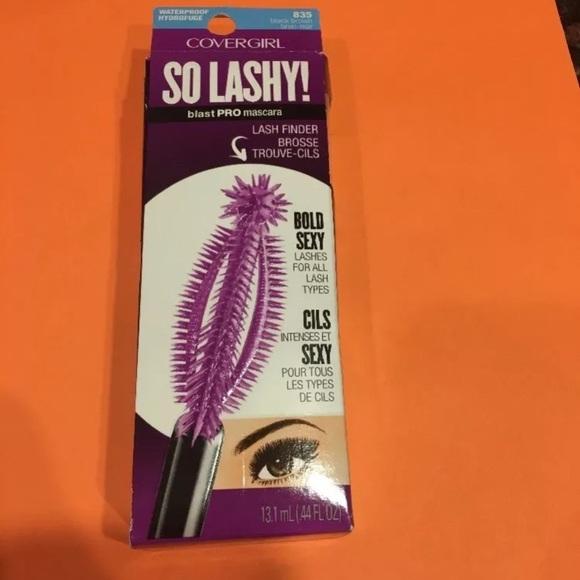 bdf76a162ef covergirl Makeup | So Lashy Blastpro Waterproof Mascara Nwb | Poshmark